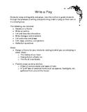 Write a Play Outline