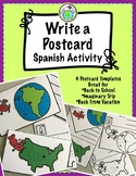 Write a Postcard Spanish Activity 4 Postcards