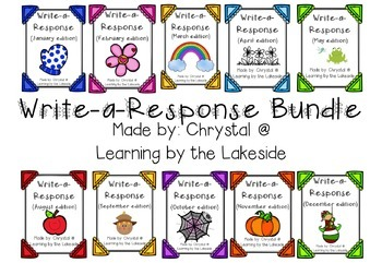 Write-a-Response BUNDLE
