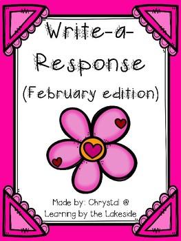 Write-a-Response February Edition