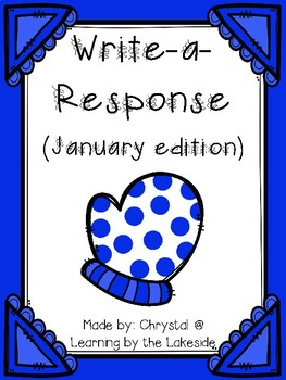 Write-a-Response January Edition
