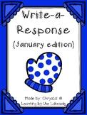 Write-a-Response January Edition