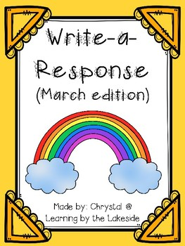 Write-a-Response March Edition