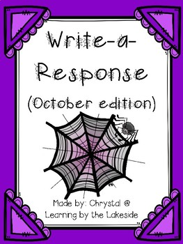 Write-a-Response October Edition