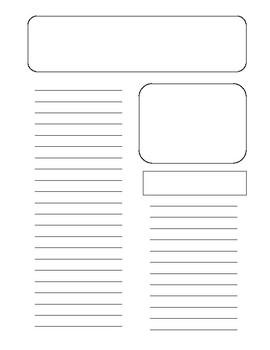 Write a Review-Graphic Organizer