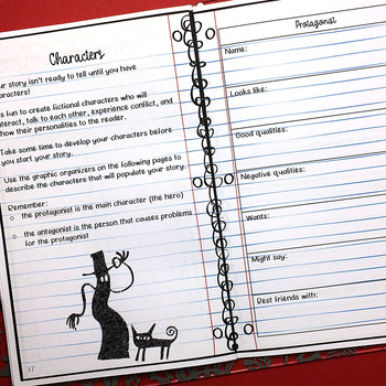 Write a Scary Story: Creative Writing Notebook