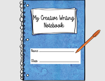 Write a Scary Story: Creative Writing Notebook for Google Classroom & One Drive