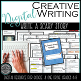Distance Learning Write a Scary Story: Creative Writing Notebook