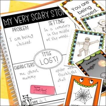 Halloween Activities - Halloween Writing Center: Write a Scary Story