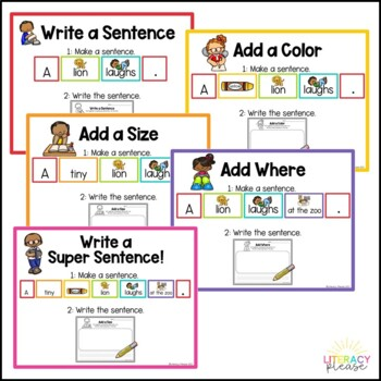 Write a Sentence Station