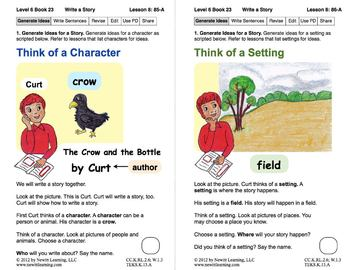 Write a Story: Lesson 8, Book 23 (Newitt Writing Series)