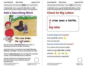Write a Story: Lesson 8, Book 23 (Newitt Writing Series)