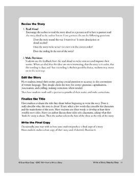 Write a Story Step by Step