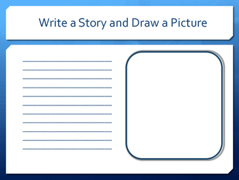 Write a Story and Draw a Picture Organizer