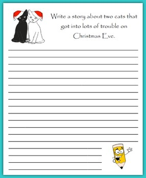 Write a Story at Christmas