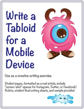 Write a Tabloid for a Mobile Device