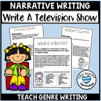 Genre Writing Prompts - Fun Writing Activities for 5th Grade