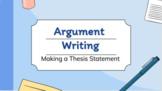 Write a Thesis Statement Mini-Lesson