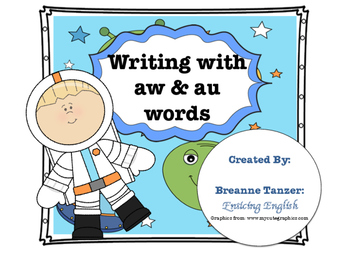 Write a story: writing center for aw / au practice
