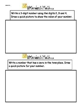 Write about Math Ch. 2