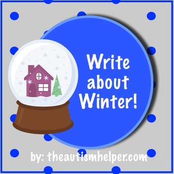 Write about Winter! Visual Writing Prompts and Activities!