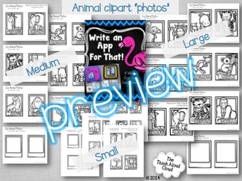 Write an App for That! Craftivity - {Animals} Distance Learning