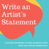 Write an Artist's Statement