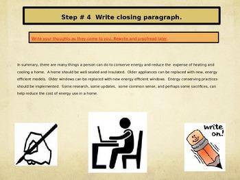 Write an Essay Lesson 3
