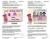 Write an Invitation: Lesson 6, Book 24 (Newitt Writing Series)