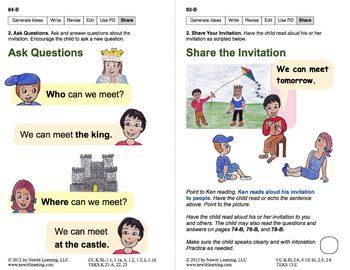 Write an Invitation: Lesson 7, Book 24 (Newitt Writing Series)
