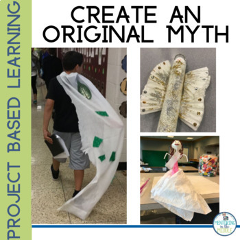 Myth Writing Unit and Project Based Learning
