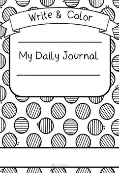 Write and Color 31 Day Journal