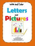 Alphabet Letter Writing - {Write and Color Sheets}