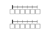 Write and Cut and Paste Number Lines (0-5, 0-10 and 0-20)