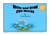 Write and Draw CVC Word Packet