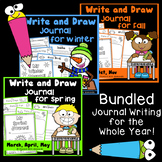 Journal Writing - Write and Draw Bundle