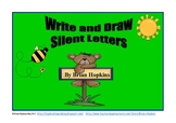 Write and Draw Silent Consonant Letters Pack