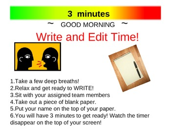 Write and Edit