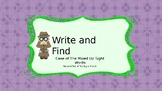 Write and Find Mixed Up Sight Words second set of 50 sight words