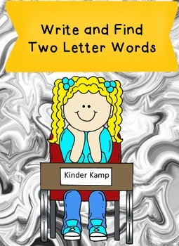 Write and Find Two Letter Sight Words