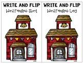 Write and Flip Word Families