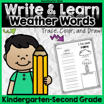 Write and Learn: Weather Words