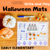 Write and Play: Halloween * Shapes and Numbers * Play Doh Mats