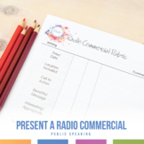 Write and Present a Radio Commercial: Practice Verbal Communication