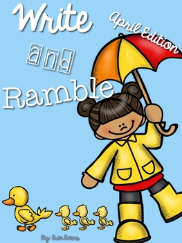 Write and Ramble - Math and Literacy Write the Room (April Edition)