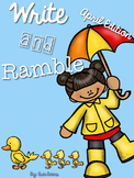 Write and Ramble - Math and Literacy Write the Room (April