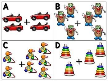 Write and Ramble - Math and Literacy Write the Room (Christmas Edition)