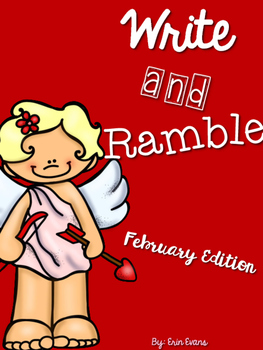 Write and Ramble - Math and Literacy Write the Room (February Edition)
