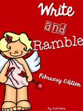 Write and Ramble - Math and Literacy Write the Room (Febru