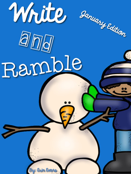Write and Ramble - Math and Literacy Write the Room (January Edition)